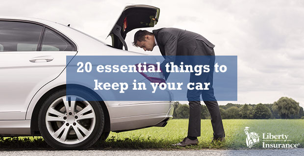 20 Essentials To Keep In Your Car