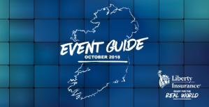 Events across Ireland This October